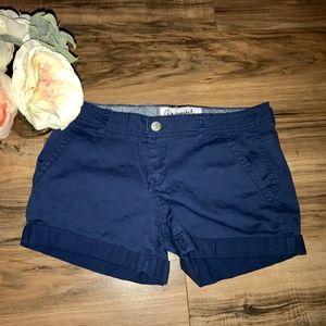 Navy CUTE Shorts